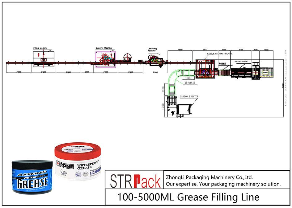 Автомат 100ML-5L тос дүүргэх шугам