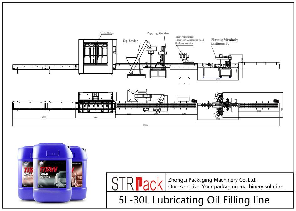 Автомат 5L-30L тослох тослох шугам