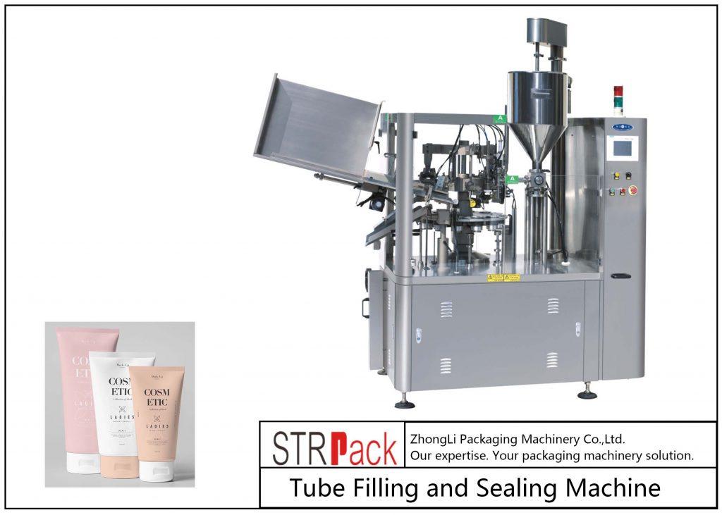 SFS-100 хуванцар хоолойг дүүргэх, битүүмжлэх машин